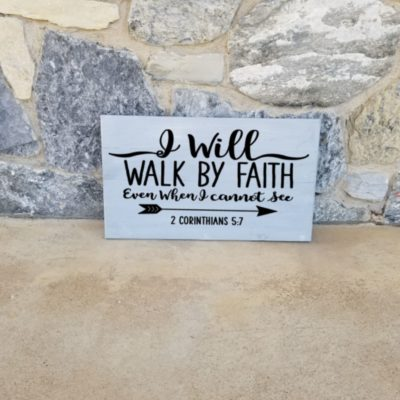 e13 i will walk by faith