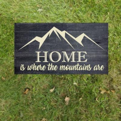 Homeiswherethemountainsare