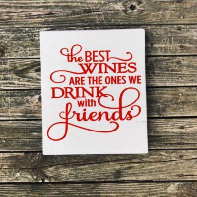 Fundraiser wine friends